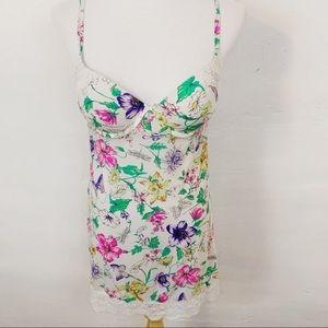 Victoria's Secret l Floral Butterfly Slip Dress